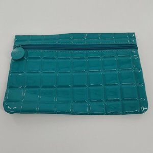 😍3 for $15 IPSY BAG Turquoise Quilted Vinyl